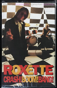 ROXETTE Crash! Boom! Bang! 1994 MALAYSIA EDITION CASSETTE VERY RARE NEW SEALED