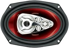 Boss Audio CH6950 6X9 Speaker 5-Way Red Poly Injection Cone