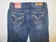 Amethyst LOW RISE Regular BOOTCUT JUNIOR 3 7 Blue JEANS Embellished Pockets NWT