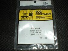 ECG5127A 12V 5W ZENER DIODE REPL NTE5127A