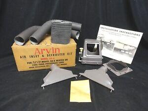 Arvin Air Inlet/Defroster KIT AF-6 Arvin MODEL 55-6 - 1955 Ford Passenger NOS