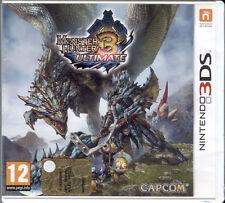 Monster unter Ultimate 3 Nintendo 3ds Usato completo