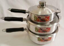 High Quality Designer Caldero Long Handle 3 Pcs Cooking Pots Set