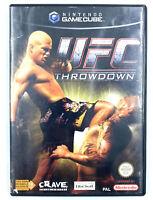Jeu Gamecube UFC Throwdown avec notice Nintendo Bon état PAL FRA