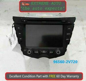 2012-2015 Hyundai Veloster Radio Display Receiver Satellite CD OEM 96560 2V720