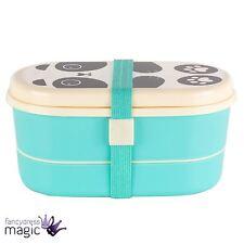 Sass & belle aiko panda kawaii ami bento box boîte à déjeuner picnic travel tub cadeau