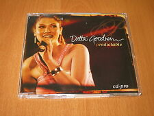 DELTA GOODREM - PREDICTABLE ( Australia Promo CD Single )