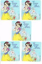 Snow White Stickers x 5 - Birthday Party - Disney Princess Party - Loot Bag Idea