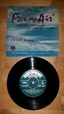 "Free as Air by Dorothy Reynolds and Julian Slain 7"" vinyl EP"