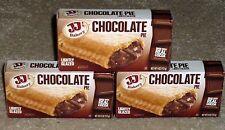 JJ's Bakery Lightly Glazed Snack Pies 4 oz (3) (Chocolate) Remember Hostess