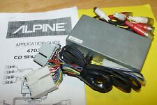 /Alpine Cd Shuttle Link 4703Gb Cd Changer Direct Connect for early Gm🚘🔧🎼�