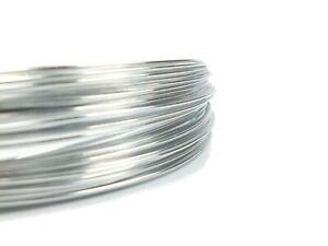 Aluminiumdraht, Aludraht, Aludraht Silber, Aluminiumdraht 1 mm - 60 m - Silber