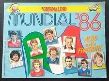 100% COMPLETE IL GIORNALINO WORLD CUP 1986 MEXICO 86 STICKER ALBUM