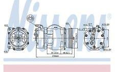 NISSENS Compresor, aire acondicionado SEAT VOLKSWAGEN GOLF FORD GALAXY 89040