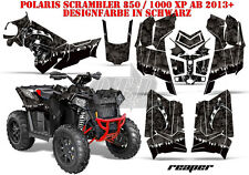 AMR RACING DEKOR GRAPHIC KIT ATV POLARIS SCRAMBLER/TRAILBLAZER REAPER B