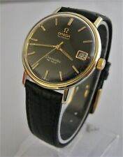 SUPERB! 196O's OMEGA SEAMASTER DE VILLE, Automatic, GOLD BEZEL AND LUGS, Date