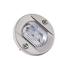 12V STAINLESS STEEL LED MARINE CABIN COCKPIT TRANSOM BOAT YACHT LED LIGHT ROUND