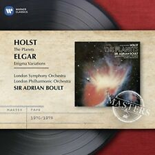 Sir Adrian Boult - Elgar Enigma Variations  Holst The Planets [CD]