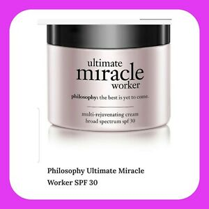 Philosophy Ultimate Miracle Worker 2oz NIB AUTHENTIC