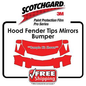 Kits for Lexus 3M 948 SGH6 PRO SERIES Scotchgard Paint Protection - Hood Bumper