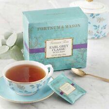Fortnum & Mason Earl Grey Classic 50 Tea Bags Box