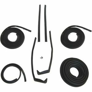 1958 Chevrolet Bel Air 2dr Hardtop Body Weatherstrip Seal Kit