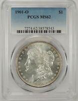 1901-O $1 MORGAN SILVER DOLLAR PCGS MS62 #38578543 - HUGE EYE APPEAL!!!