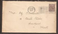 "Ireland 1953 cover. ""Inis Corthaidh"" cancellation"