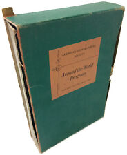 American Geographical Society Around the World Program by Nelson Doubleday Inc
