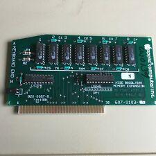 AIIE 80 Column / 64K Memory Expansion Card P/N 607-0103