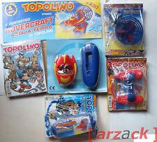 Lotto 4 TOPOLINO 2745 - 2748 blisterati con gadget HOVERCRAFT di TOPOLINO 2008