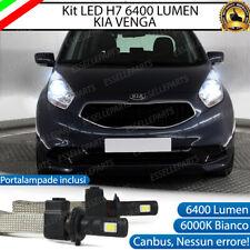 KIT LAMPADE ANABBAGLIANTI LED KIA VENGA LED H7 6000K BIANCO NO ERROR
