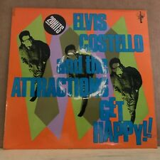 ELVIS COSTELLO AND THE ATTRACTIONS Get Happy 1980 vinyl LP Excellent Condition b