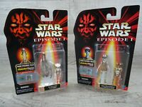 Star Wars Episode 1 Gasgano & Ody Mandrell CommTalk Action Figure Bundle Hasbro