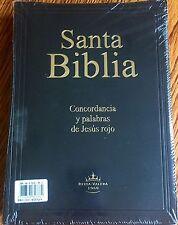 Biblia RVR60 Letra Muy Grande (14pts) Pasta Vinil Color Negro - Letras Rojas #05
