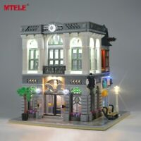 LED Light Up Kit For LEGO Creator Brick Bank 10251 Lighting Set 10251 building