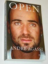 AUTOBIOGRAPHIE biographie OPEN André Agassi TENNIS Suzy Borello SPORT