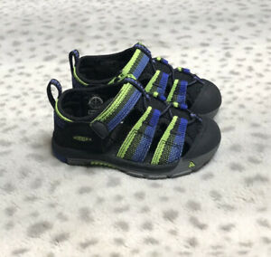 Keen Newport H2 Sandal Toddler Size 4 Racer Black Fisherman Water Shoes