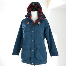 Vintage 80s WOOLRICH Woman 60/40 Hooded Blanket Lined Barn Chore Coat S MINT