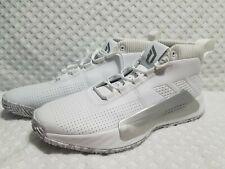 Rare Adidas Dame 5 SM Team Mens Size 12.5 White EE5424 Basketball Shoes