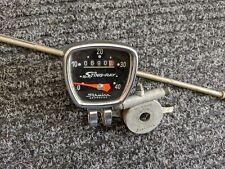 Vintage Schwinn Stingray Bike Speedometer - Original with Drive & Cable