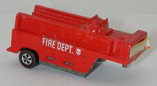 Redline Hotwheels Red Fire Trailer The Heavyweights oc13710