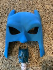 BATMAN Vintage Paper Mask & Night light Pottery Barn Kids Wall Decor Super Hero