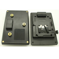 V-Mount Lock To Anton Bauer Battery Adaptor Plate Fit Sony Panasonic JVC System