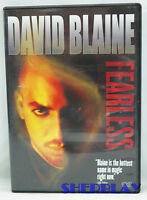 David Blaine  Fearless  DVD David Blaine