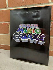 Super Mario Galaxy Collector's Edition Hard Cover Official Game Guide Book