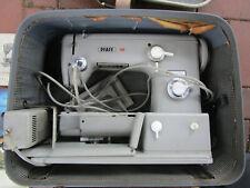 Pfaff 360 Flachbett Nähmaschine Fußanlasser mit Bedienungsanleitung und Zubehör