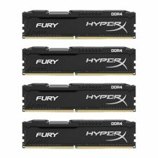4x16GB 64GB DDR4 2666MHz RAM 1.2V Desktop Memory DIMM For Kingston HyperX FURY U