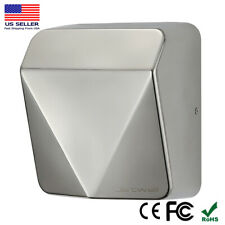 JETWELL Upgrade HEPA Filter HighSpeed Commercial Stainless Steel Auto Hand Dryer