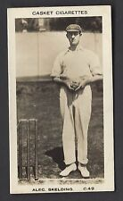 More details for pattreiouex (early) - famous cricketers (printed) - #c49 alec skelding